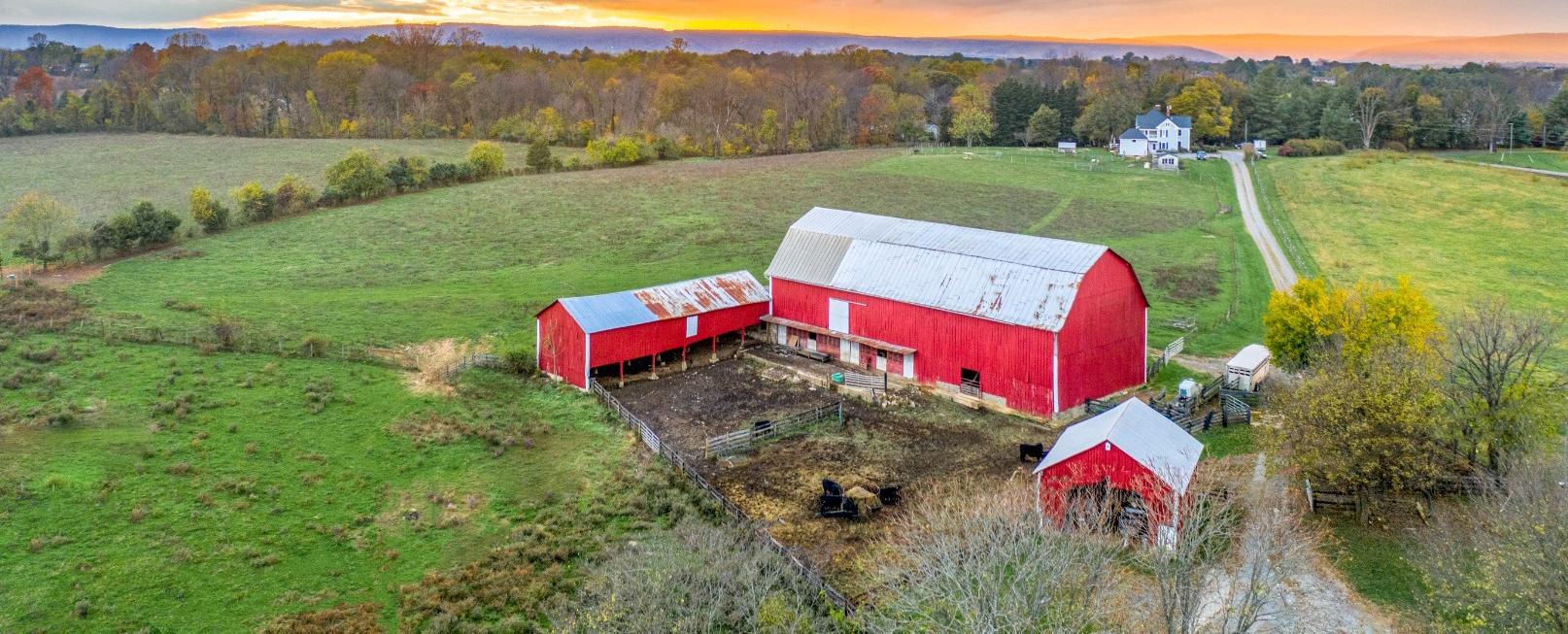 Bradley and Jean Karmen's farm in Lovettsville VA
